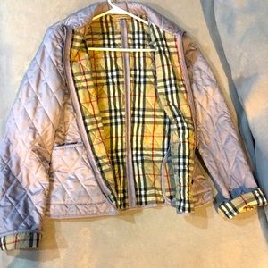 Diamond Quilted Burberry Jacket
